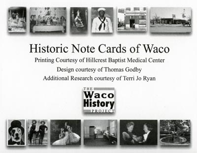 Waco History Project's Stock the Shelves grant