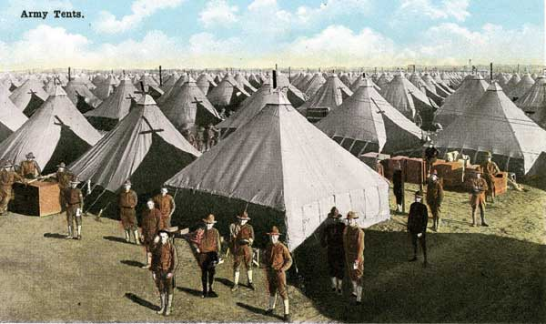 From ' Tent City' to Camp MacArthur nation