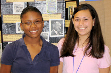 Lauren Hernandez and Shakayla Furlow